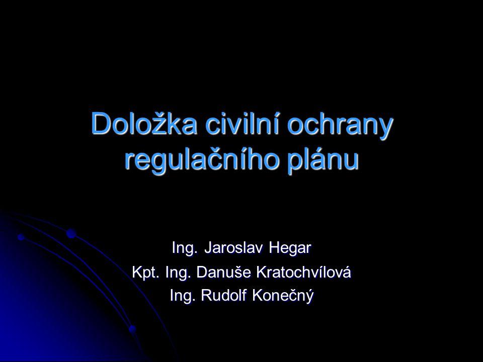 Doložka civilní ochrany regulačního plánu