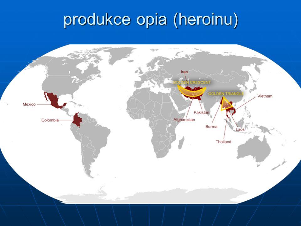 produkce opia (heroinu)