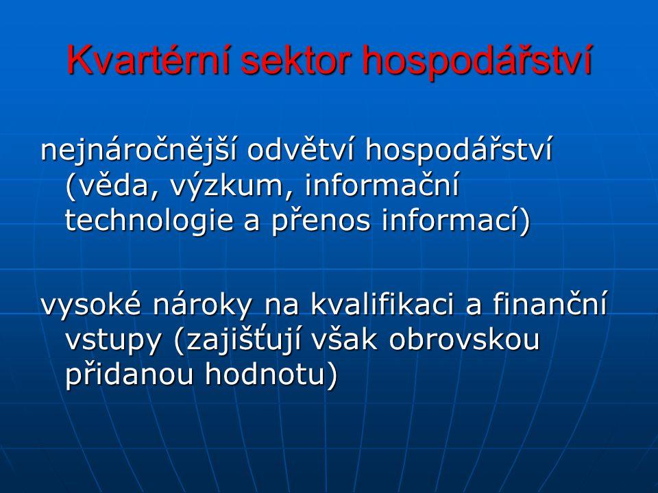 Kvartérní sektor hospodářství
