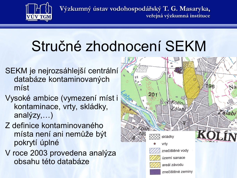 Stručné zhodnocení SEKM