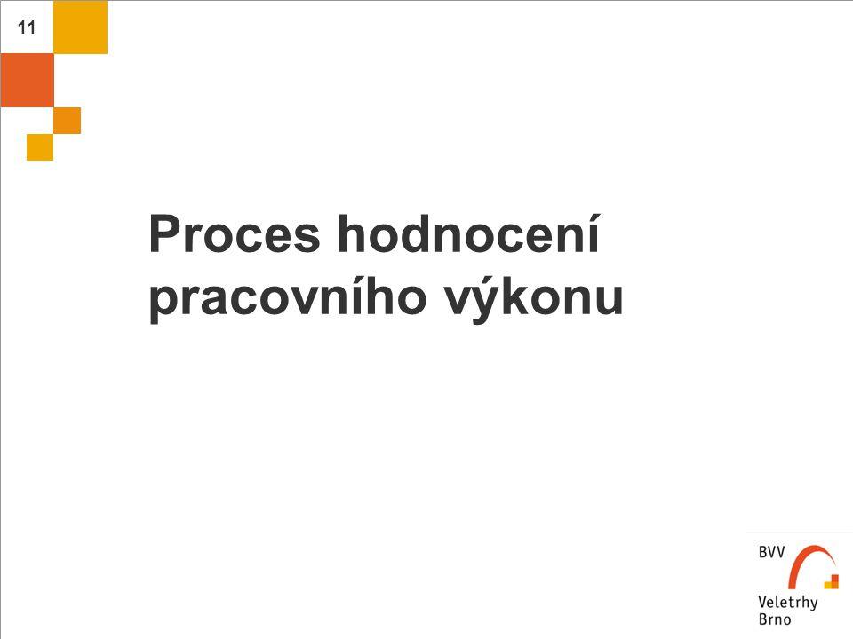 Proces hodnocení pracovního výkonu
