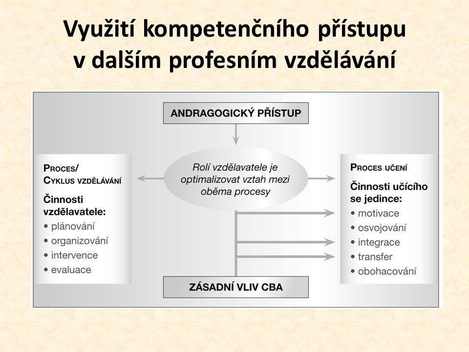 Využití kompetenčního přístupu v dalším profesním vzdělávání