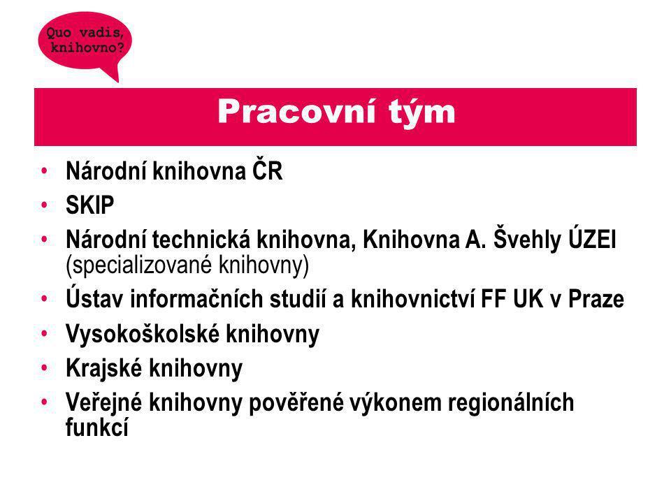 Pracovní tým Národní knihovna ČR SKIP