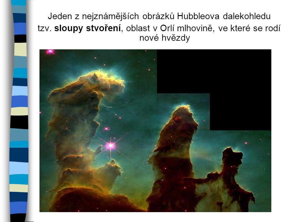 Jeden z nejznámějších obrázků Hubbleova dalekohledu