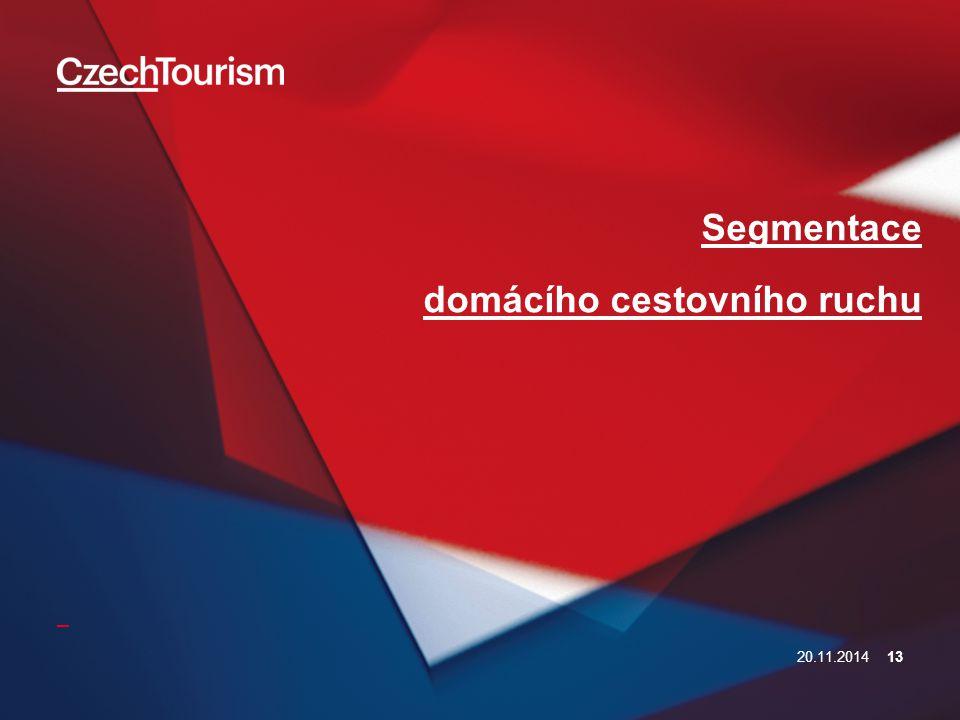 Segmentace domácího cestovního ruchu