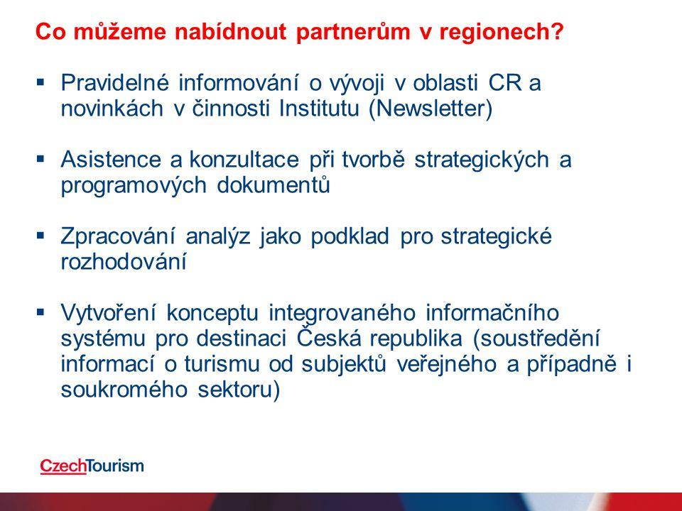 Co můžeme nabídnout partnerům v regionech