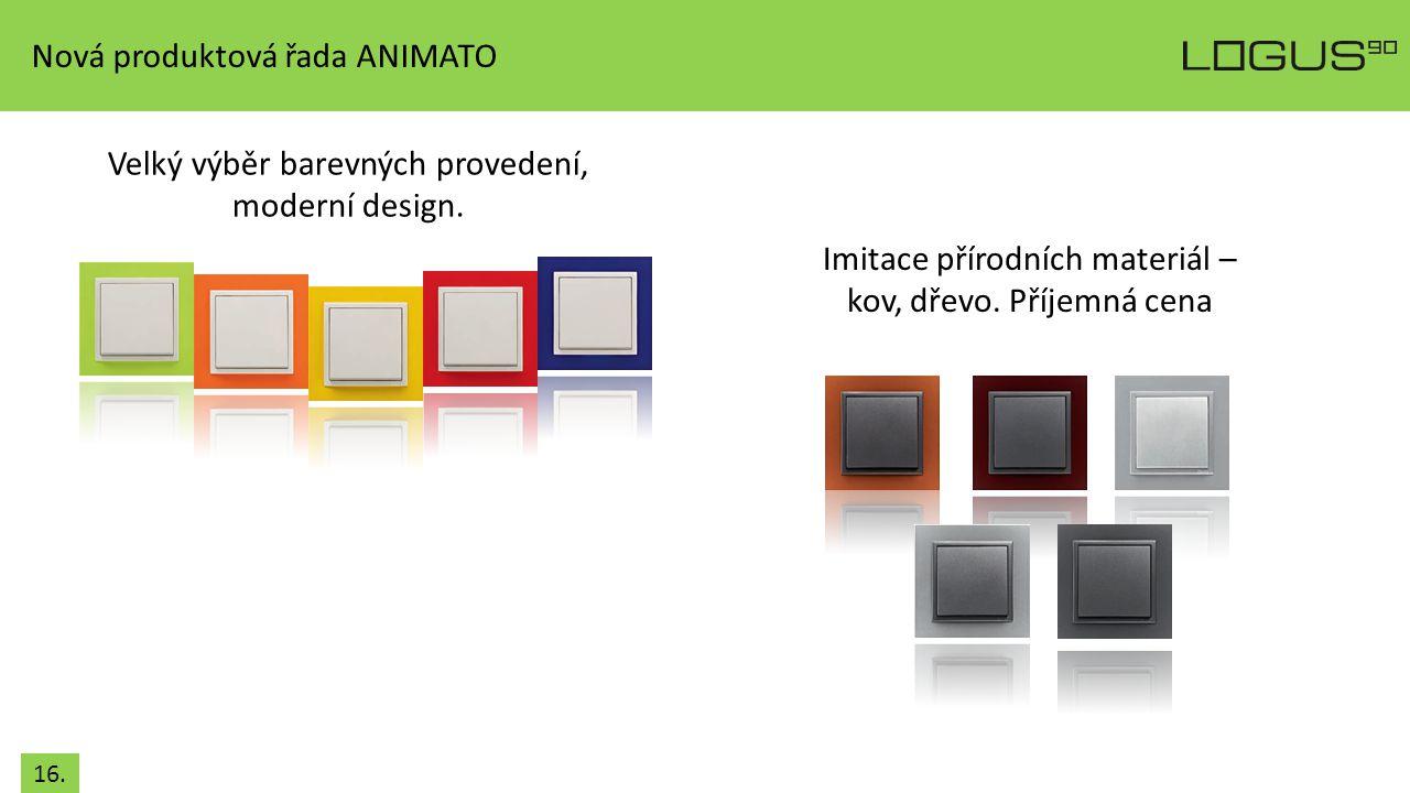 Nová produktová řada ANIMATO