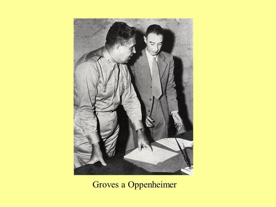 Groves a Oppenheimer