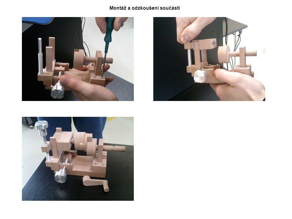 Montáž a odzkoušení součásti