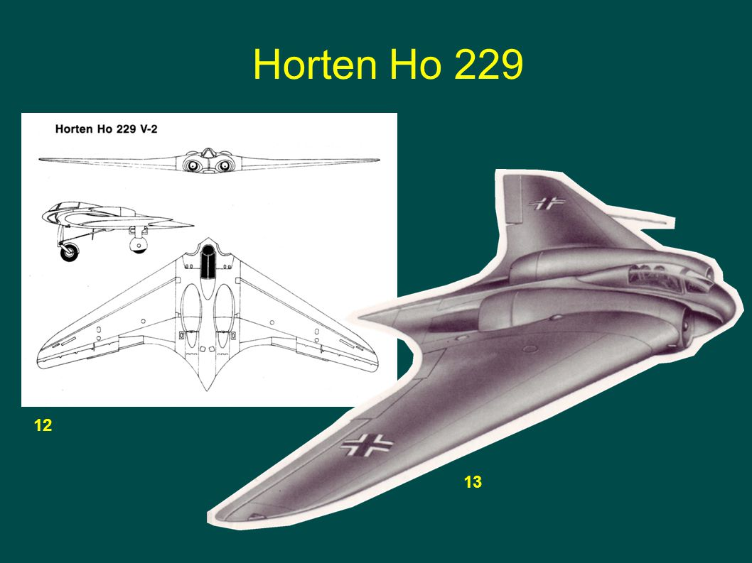 Horten Ho 229 12 13