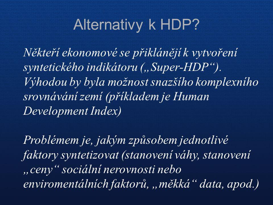 Alternativy k HDP
