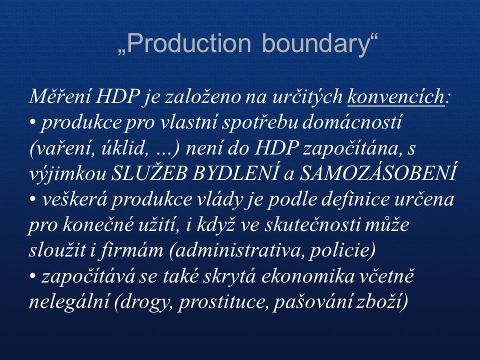 """Production boundary"