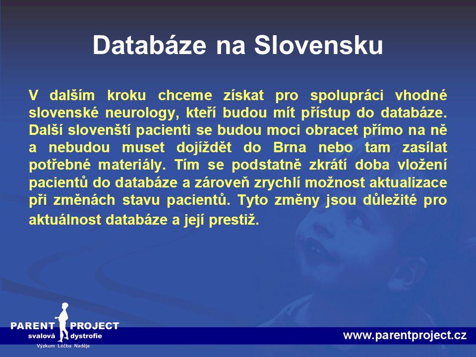 Databáze na Slovensku