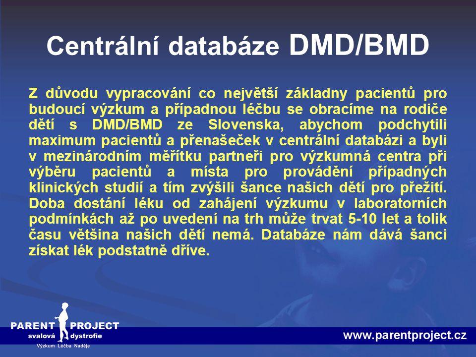 Centrální databáze DMD/BMD