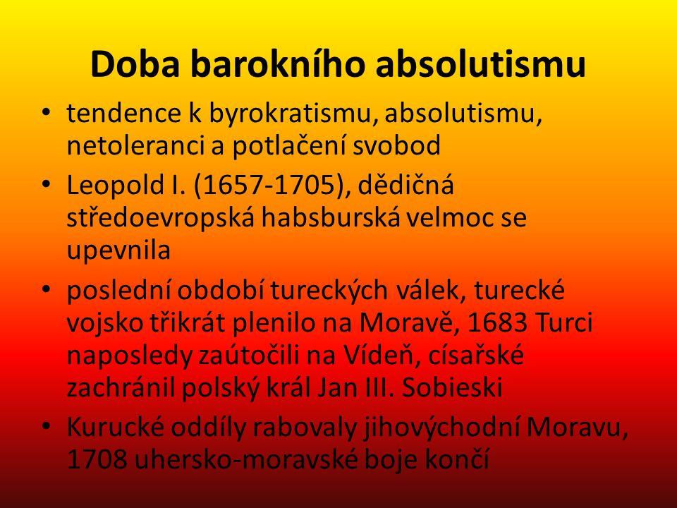 Doba barokního absolutismu