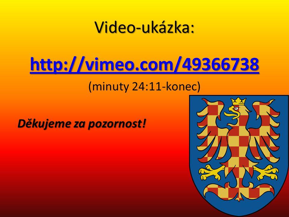 http://vimeo.com/49366738 Video-ukázka: (minuty 24:11-konec)