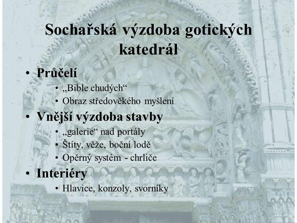 Sochařská výzdoba gotických katedrál