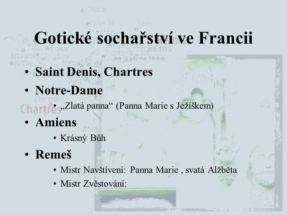 Gotické sochařství ve Francii