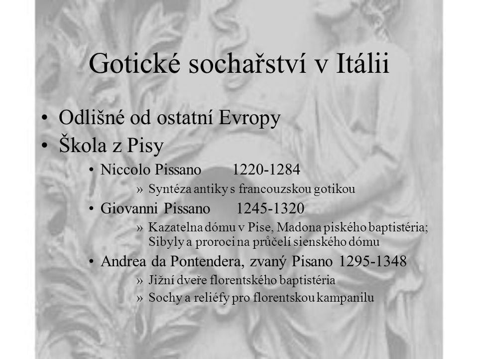 Gotické sochařství v Itálii