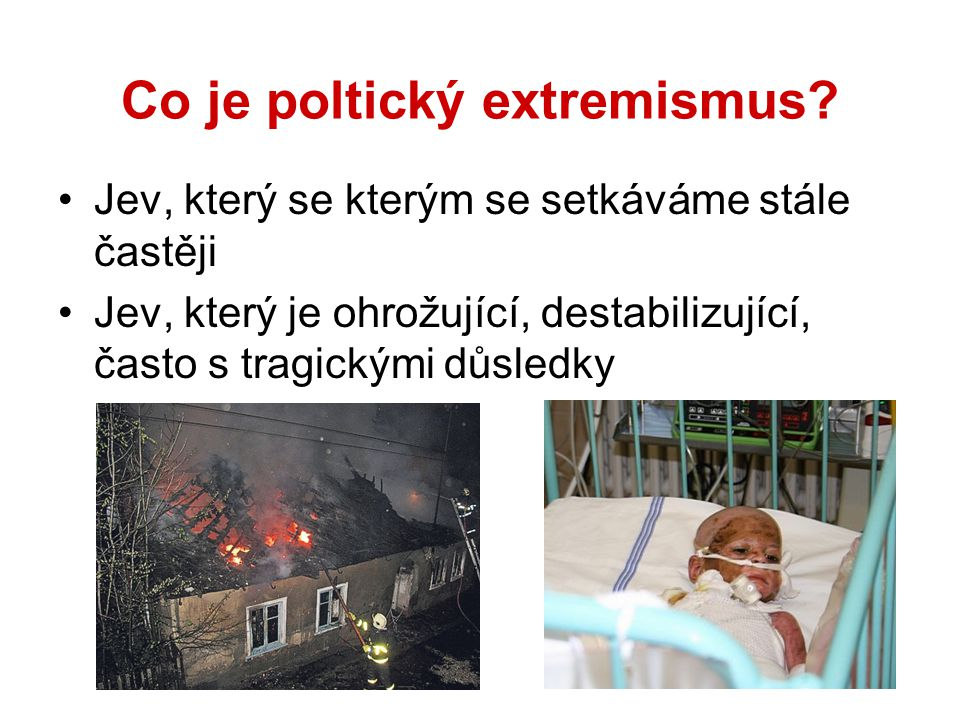 Co je poltický extremismus