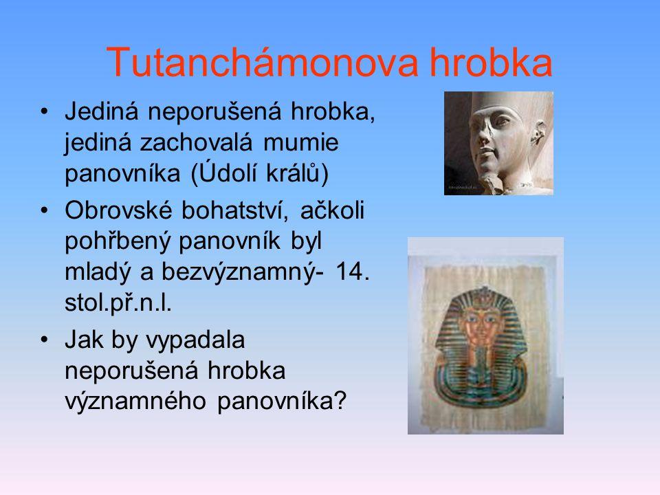 Tutanchámonova hrobka