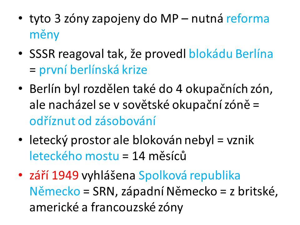 tyto 3 zóny zapojeny do MP – nutná reforma měny