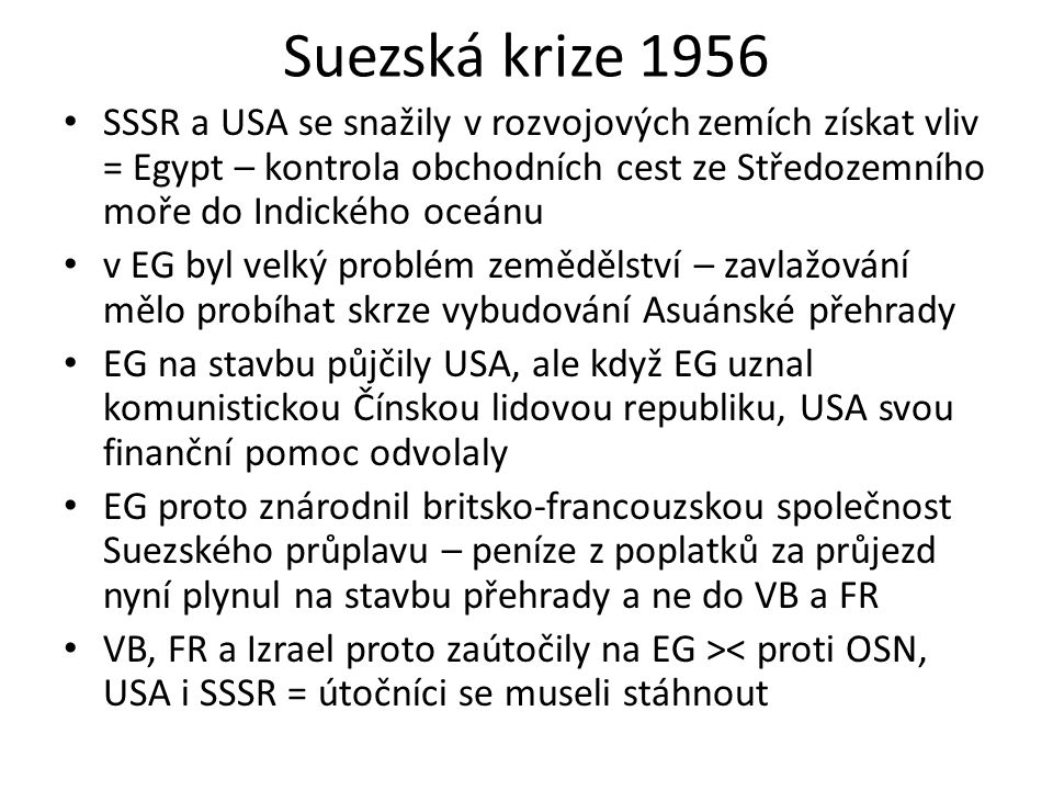 Suezská krize 1956