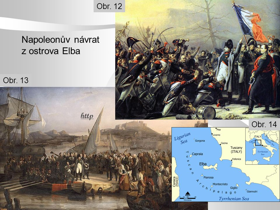 Napoleonův návrat z ostrova Elba