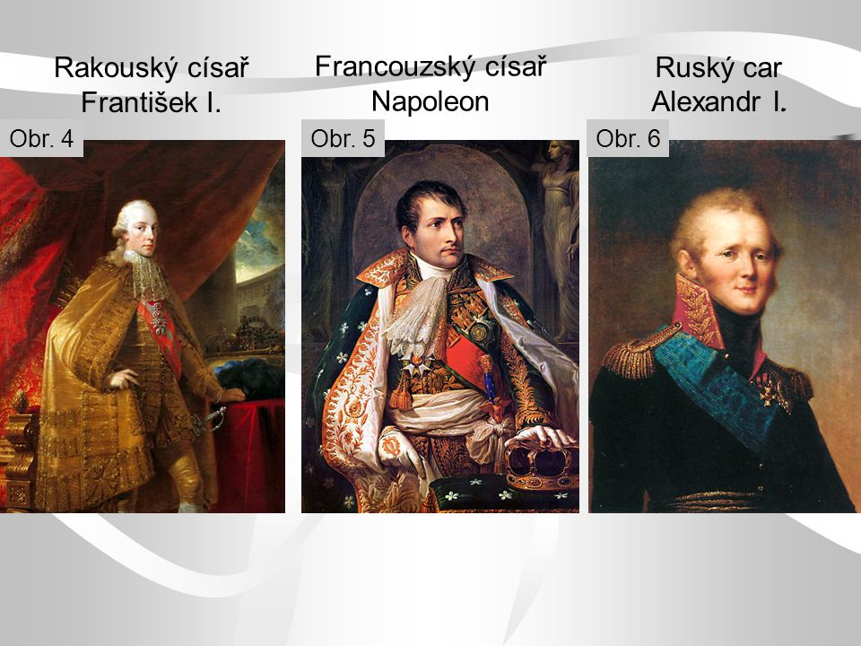 Francouzský císař Napoleon