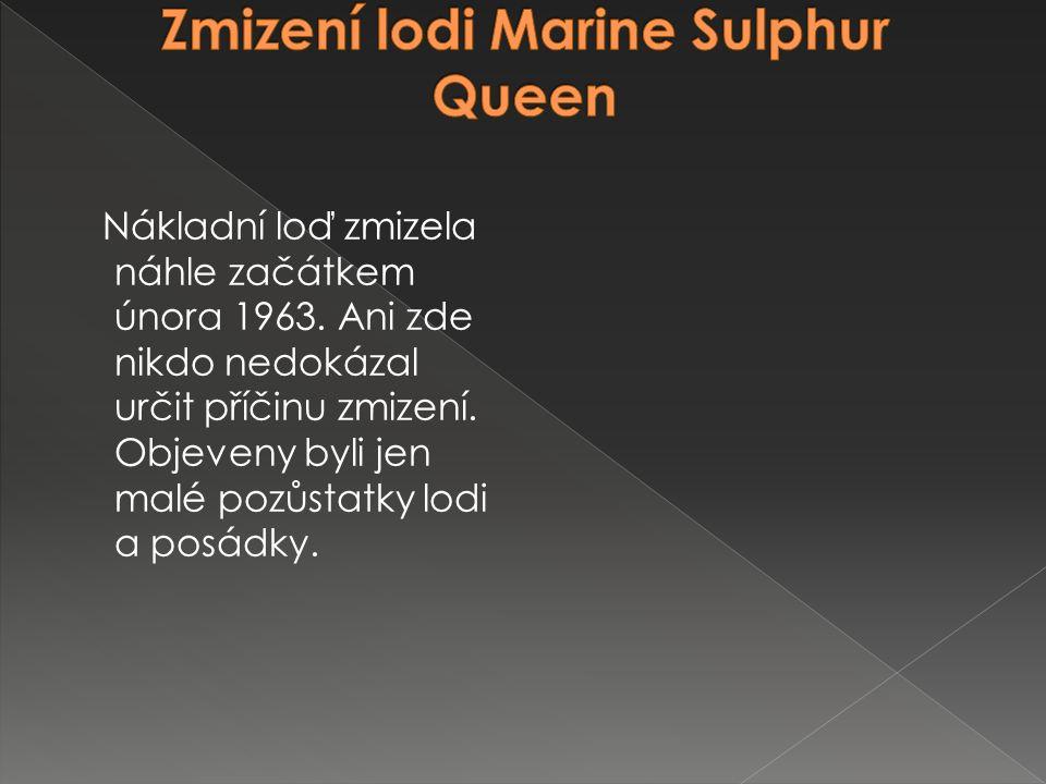 Zmizení lodi Marine Sulphur Queen