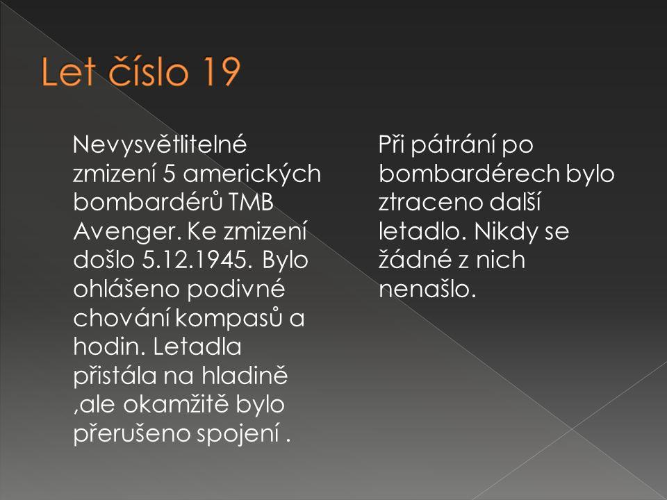 Let číslo 19