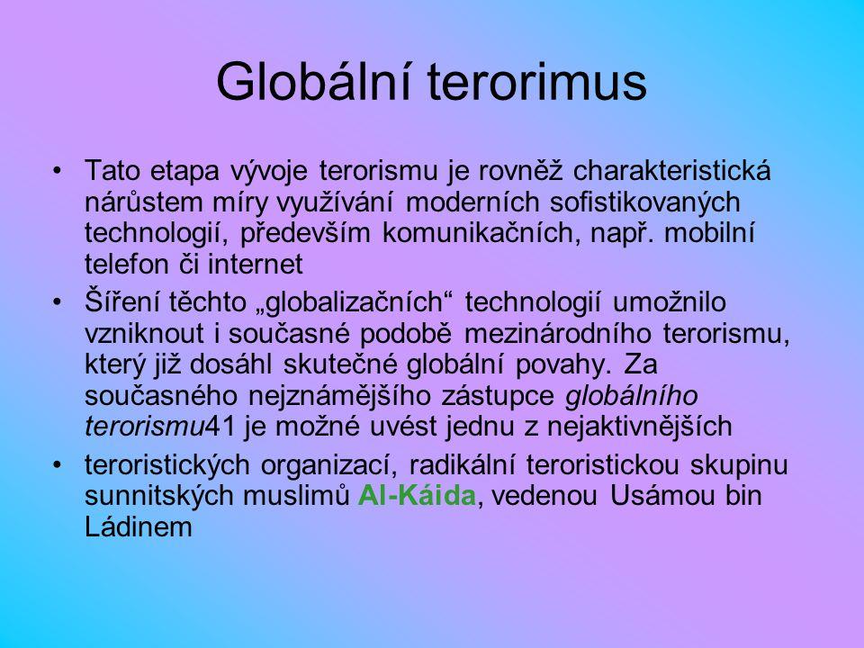 Globální terorimus