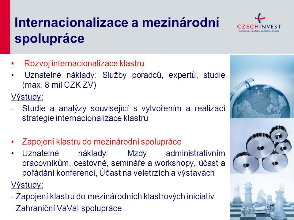 Internacionalizace a mezinárodní spolupráce