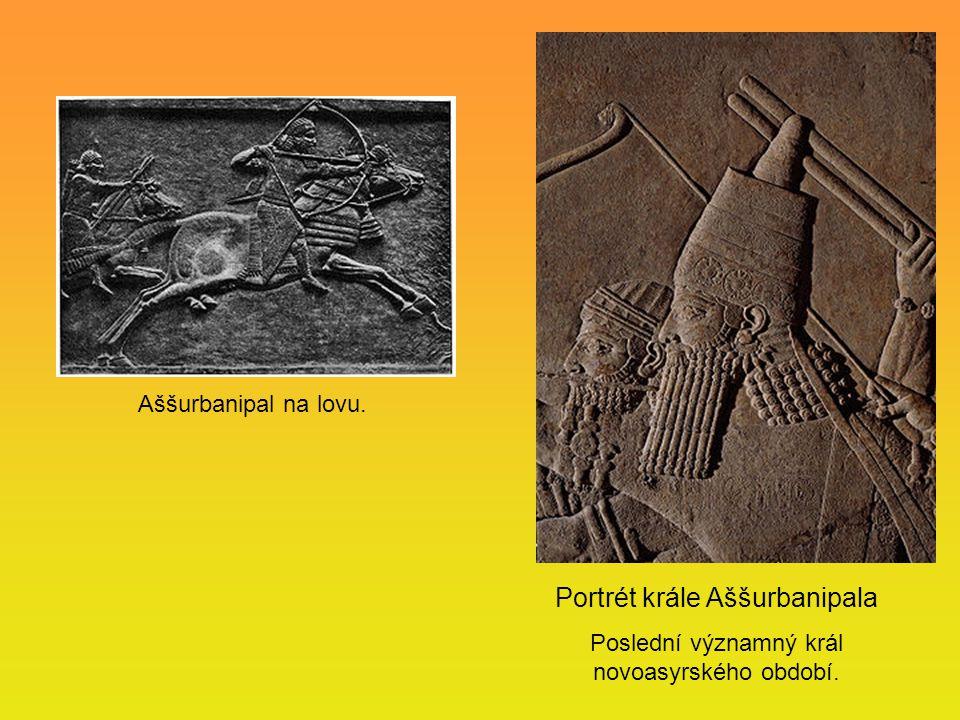 Portrét krále Aššurbanipala