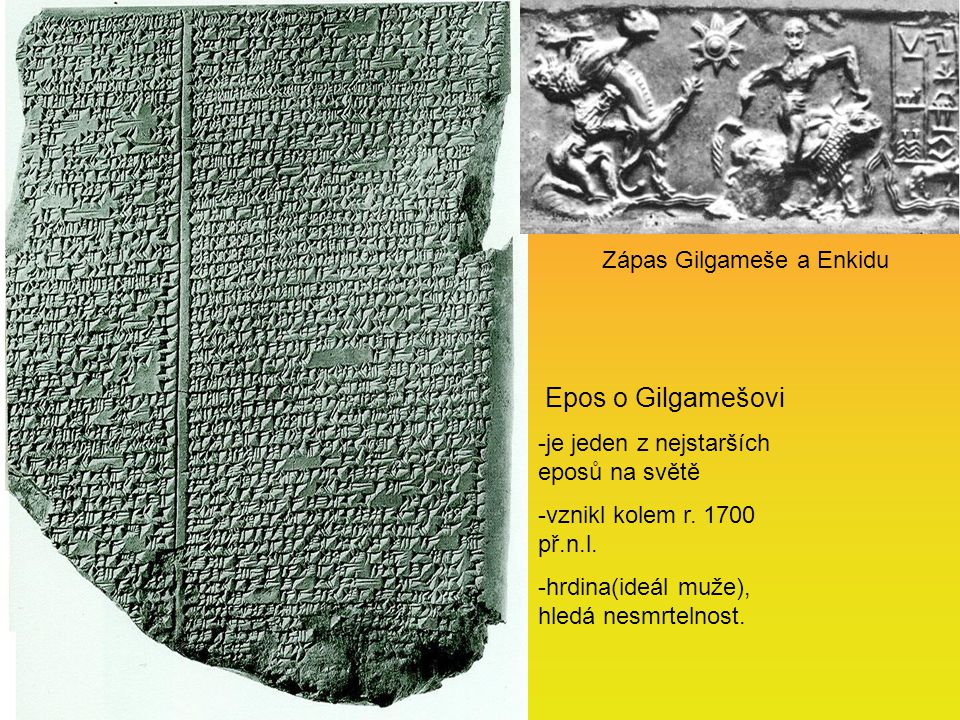 Zápas Gilgameše a Enkidu
