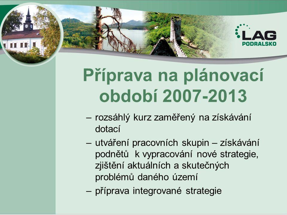 Příprava na plánovací období 2007-2013