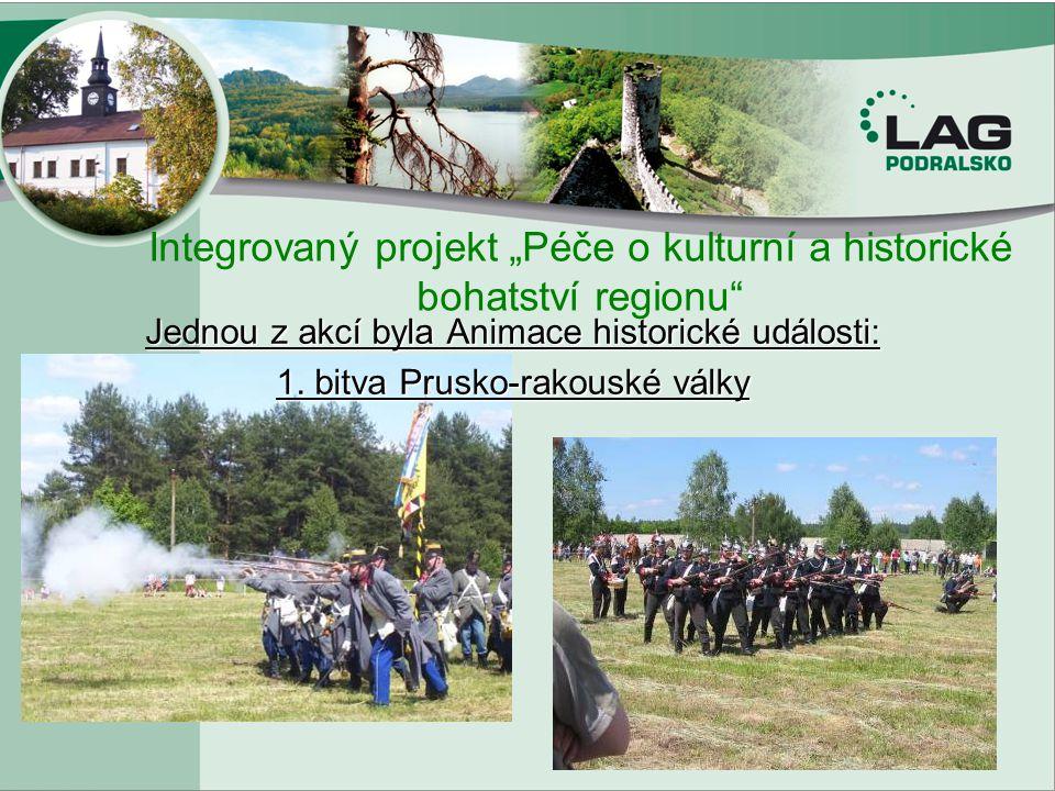 """Integrovaný projekt """"Péče o kulturní a historické bohatství regionu"""