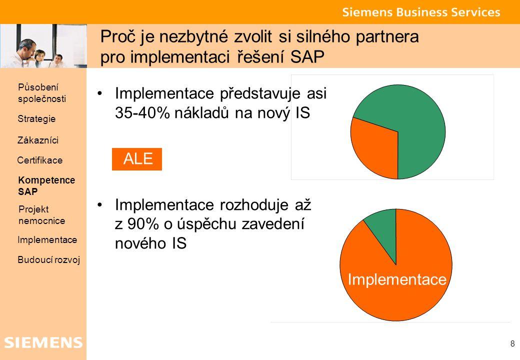 Proč je nezbytné zvolit si silného partnera pro implementaci řešení SAP