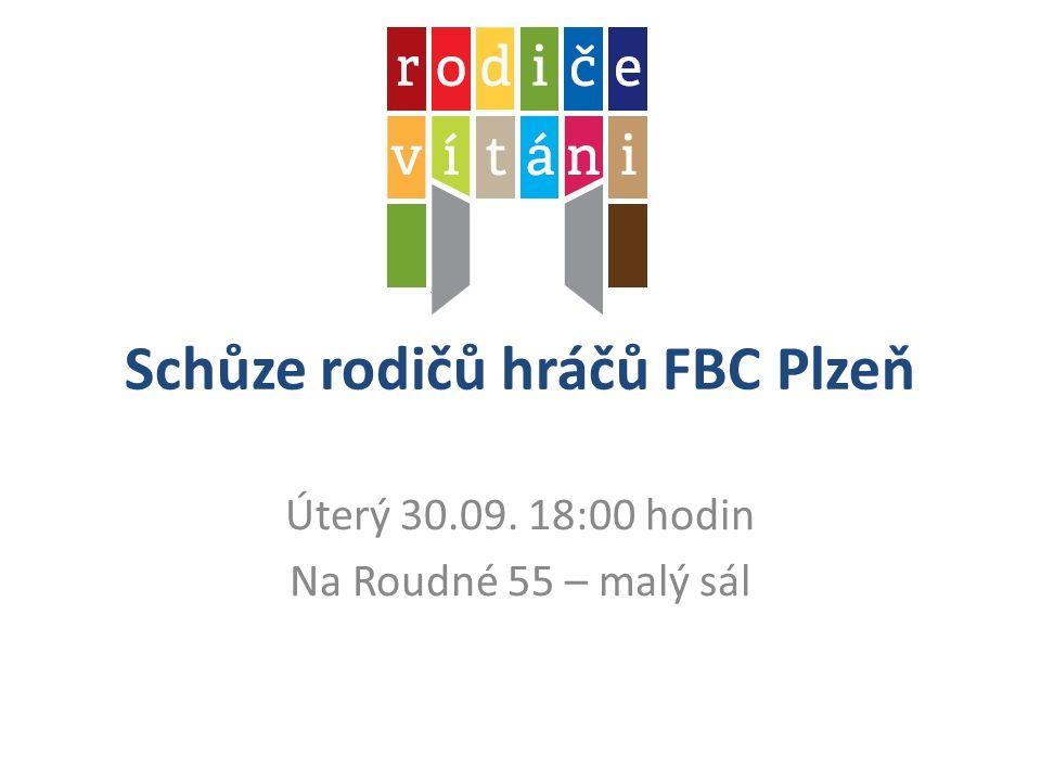 Schůze rodičů hráčů FBC Plzeň