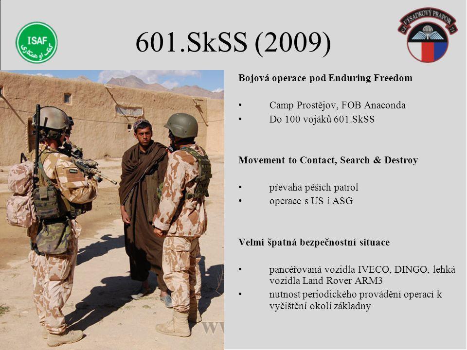 601.SkSS (2009) Bojová operace pod Enduring Freedom