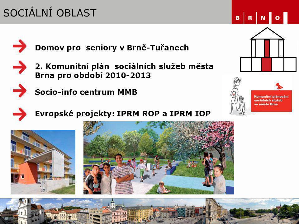 SOCIÁLNÍ OBLAST Domov pro seniory v Brně-Tuřanech