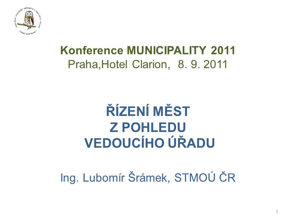 Konference MUNICIPALITY 2011