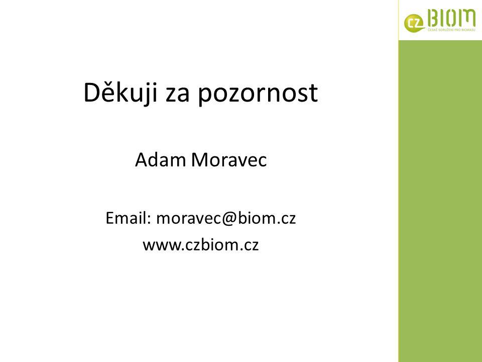 Děkuji za pozornost Adam Moravec