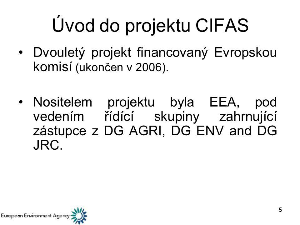 Úvod do projektu CIFAS Dvouletý projekt financovaný Evropskou komisí (ukončen v 2006).