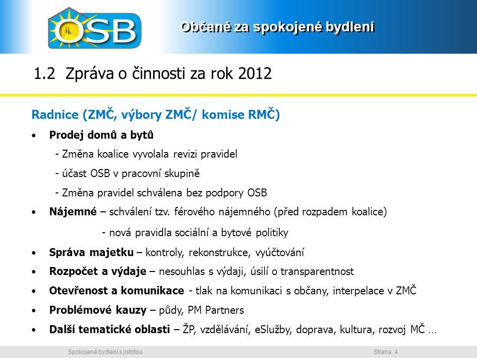 1.2 Zpráva o činnosti za rok 2012