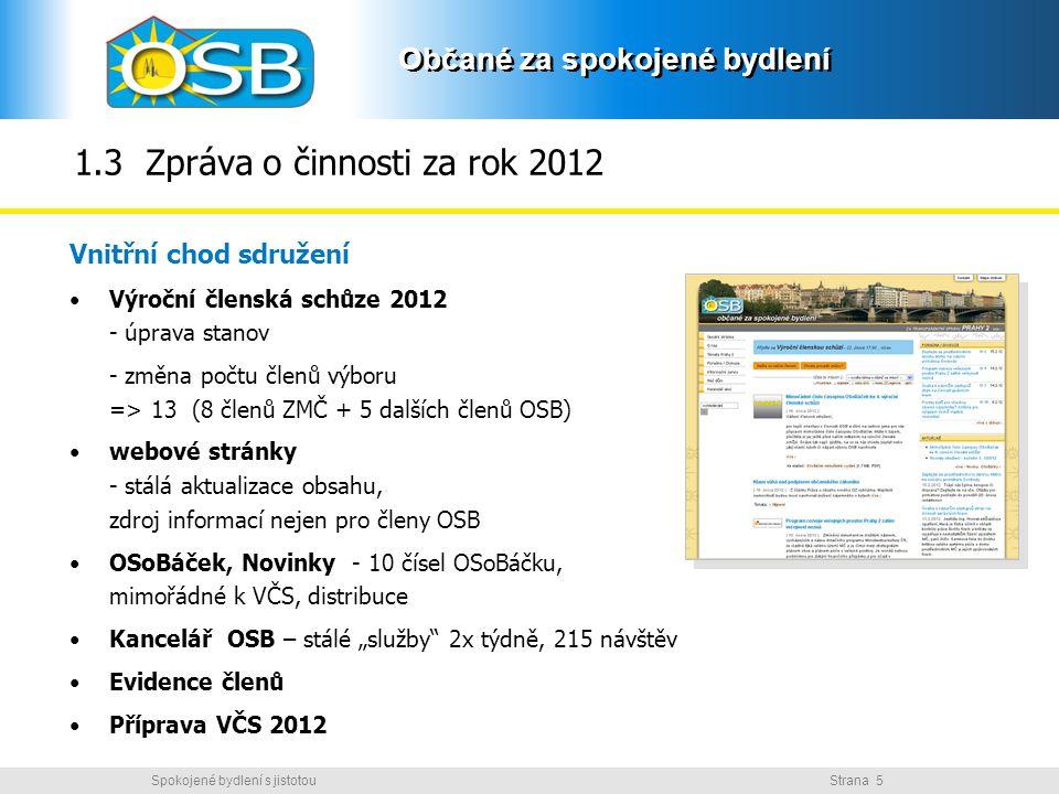 1.3 Zpráva o činnosti za rok 2012