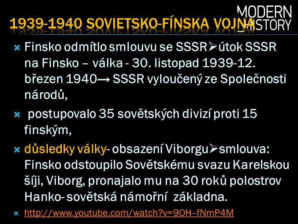 1939-1940 Sovietsko-fínska vojna