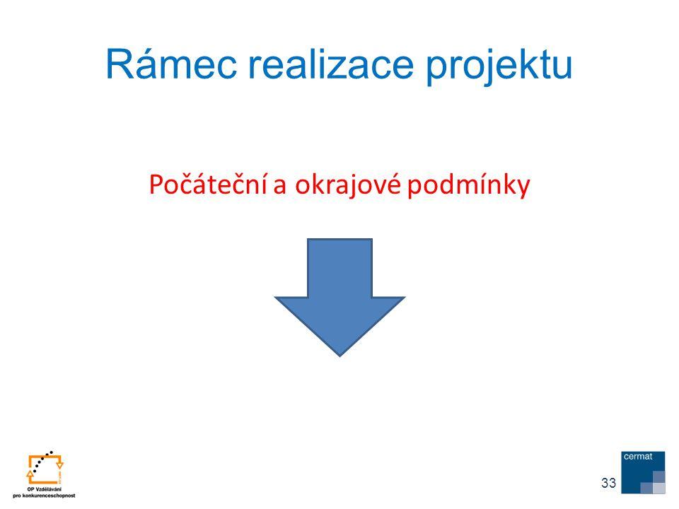 Rámec realizace projektu