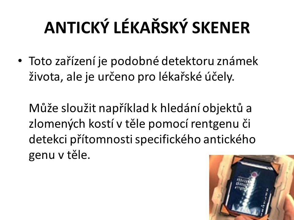 ANTICKÝ LÉKAŘSKÝ SKENER