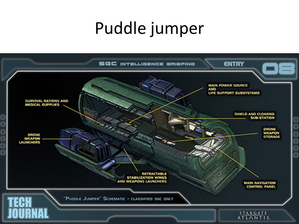 Puddle jumper